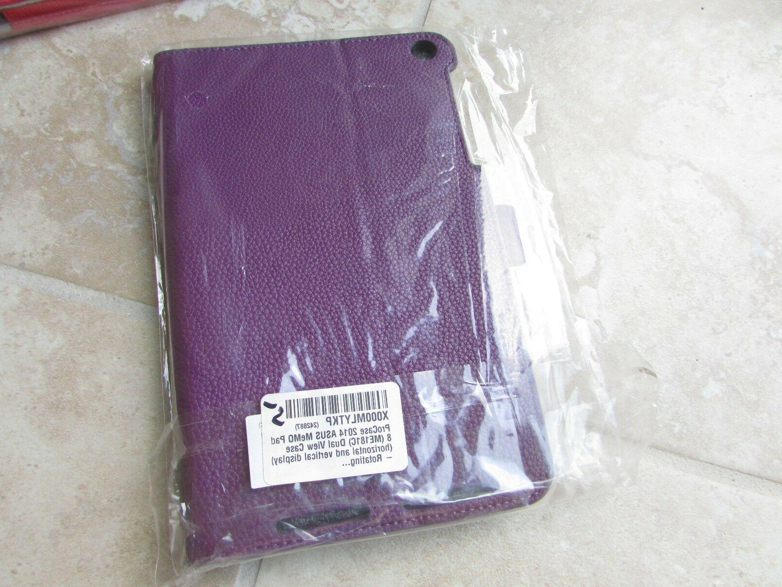 ProCase Me181c Tablet Stand Book Leather Purple