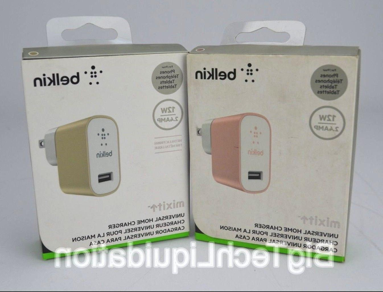 Authentic Belkin MIXIT Universal Home Charger For Mobile Dei