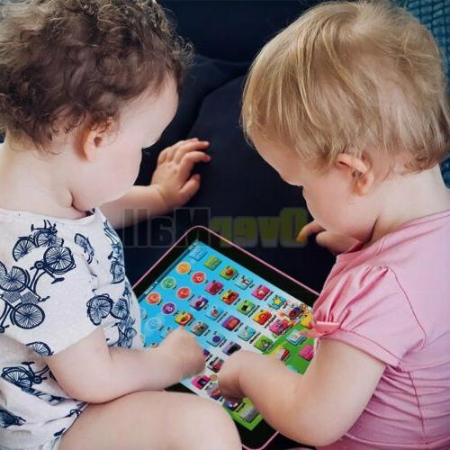 Baby Tablet Toys Girls Year Old Learning English
