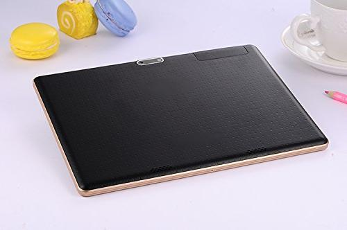 Black 9.7 inch Tablet Bluetooth 8.0MP Phone Call Tablets Android 5.1 7