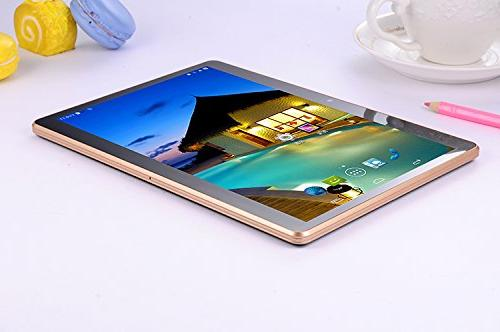 Black Octa Core RAM Bluetooth ROM 3G Phone Tablets Android 5.1 GPS 7 10