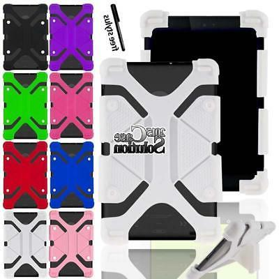 Bumper Silicone Stand Cover Case For Various RCA 7 Voyager T