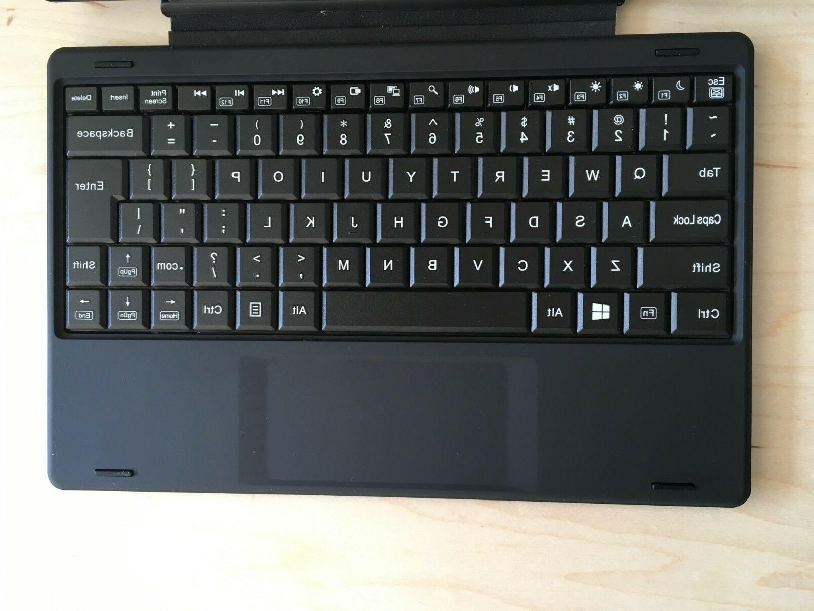RCA Windows tablet with keyboard and Free Office