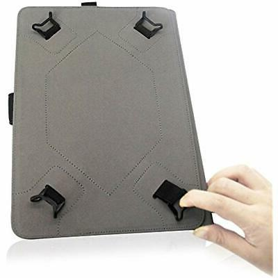 ProCase Cases Universal For 9-10 Leather Stand