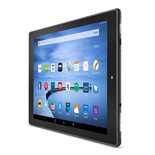 Certified Refurbished 10 Tablet, - Includes Special Offers, Black