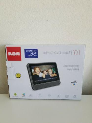 RCA DVD PLAYER WITH TABLET 10 INCH DRP2091