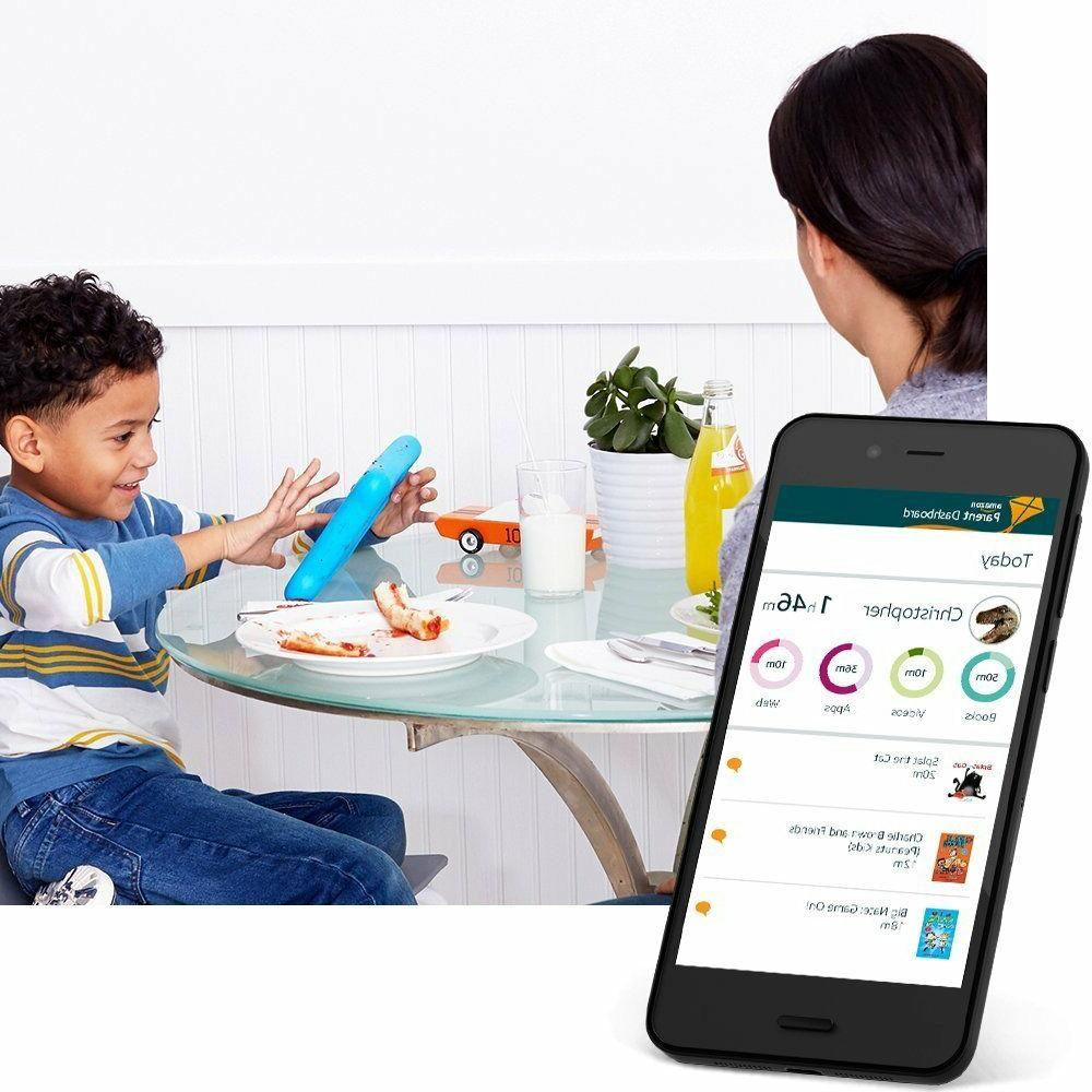 NEW Kids Edition Tablet Display Blue