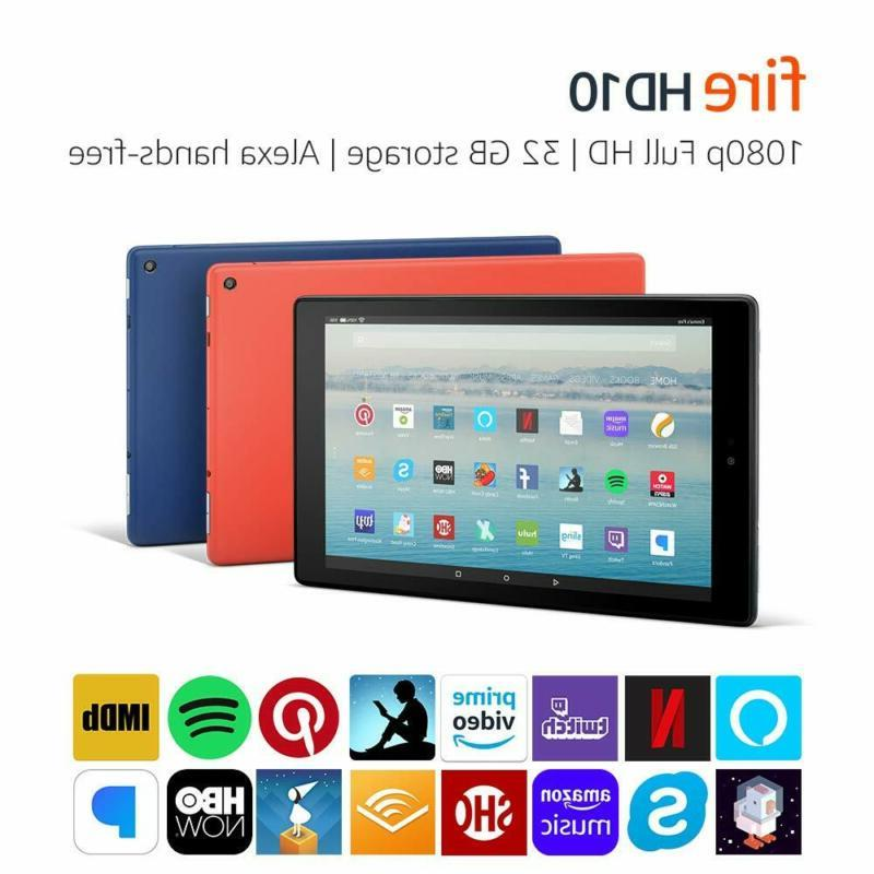 fire hd 10 tablet with alexa hands