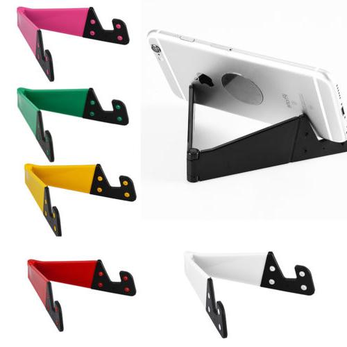 Foldable Vertical Horizontal Smart Phone Tablet Stand Mount