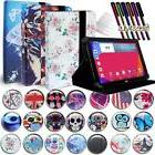 "FOLIO LEATHER STAND CASE COVER For Various 7"" 8"" LG G Pad Ta"