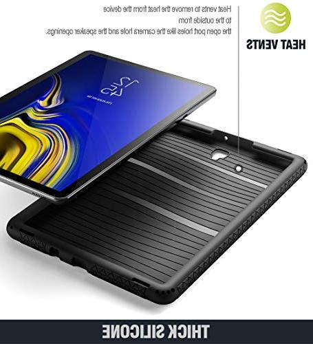 Galaxy Case, TurtleSkin Series Protective Silicone Case for Samsung Tab S4