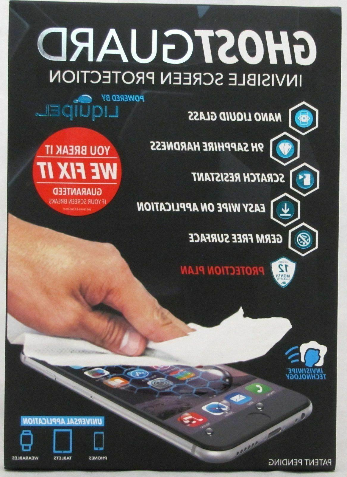 ghost guard invisible glass screen protection protector