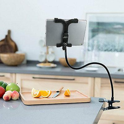 "Gooseneck Tablet Kitchen Mount for 7""-10"" Tabs"