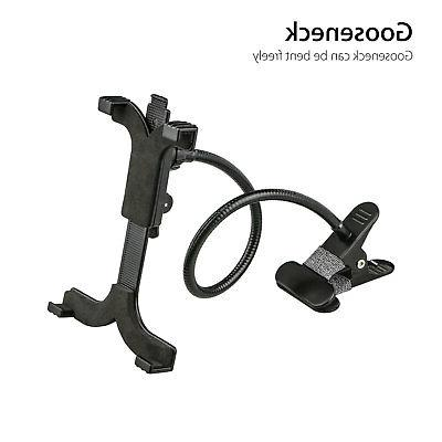 "Gooseneck Tablet Holder Kitchen Mount Arm for Pro 7""-10"""