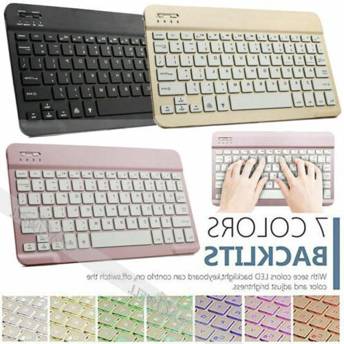 Portable Wireless Keyboard For Samsung Galaxy Tab A S6 S5e S