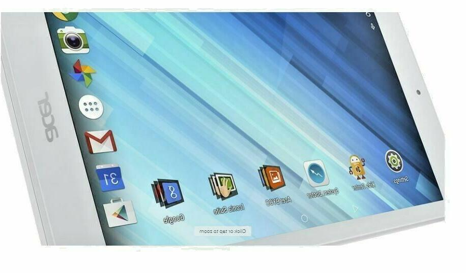 Acer Iconia B1-850 8'' Tablet 16GB White