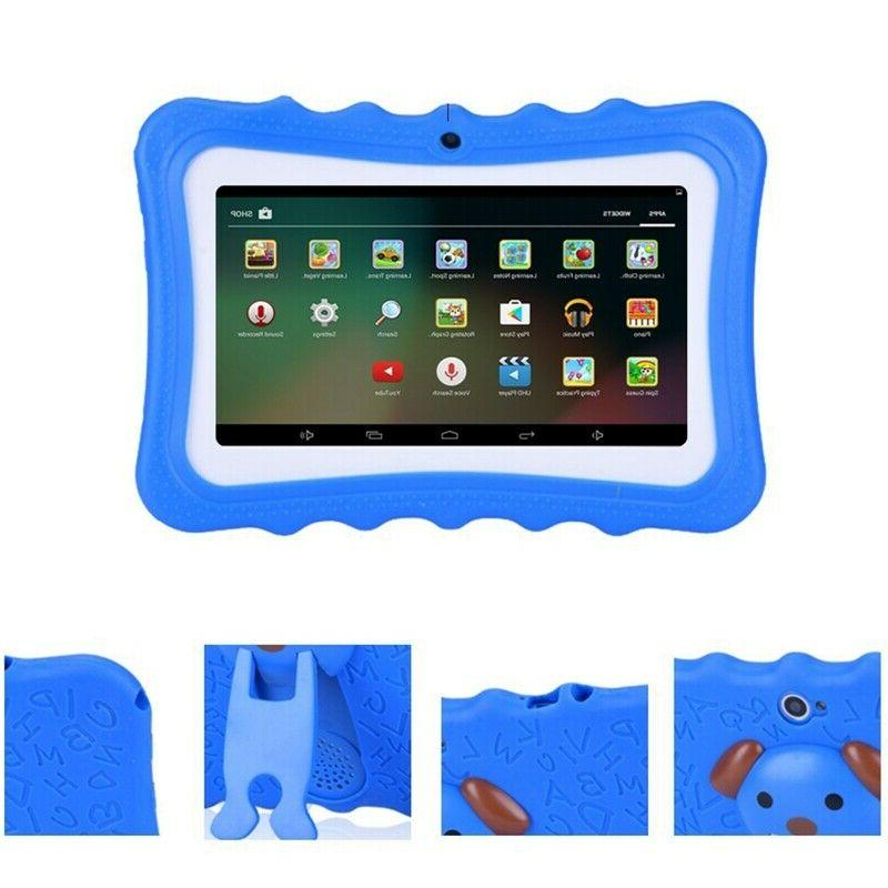 """Kids 7"""" 8GB Android Quad Core Educational Blue"""