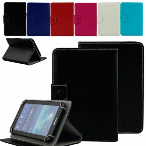 "UNIVERSAL 8"" inch Leather Protective Stand Case Cover For Sa"