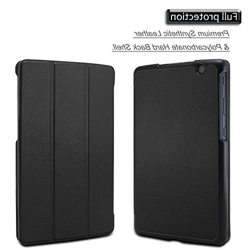 Infiland LG G X 8.0 / Pad 8.0 Case, Tri-Fold Ultra Slim Stand Frost for G X 8.0 / G Pad III 8-Inch