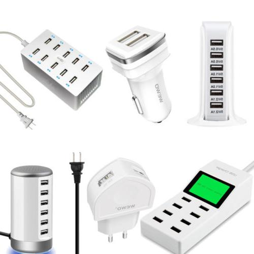 Multi Port Universal USB Travel Wall Charger Power Type C fo