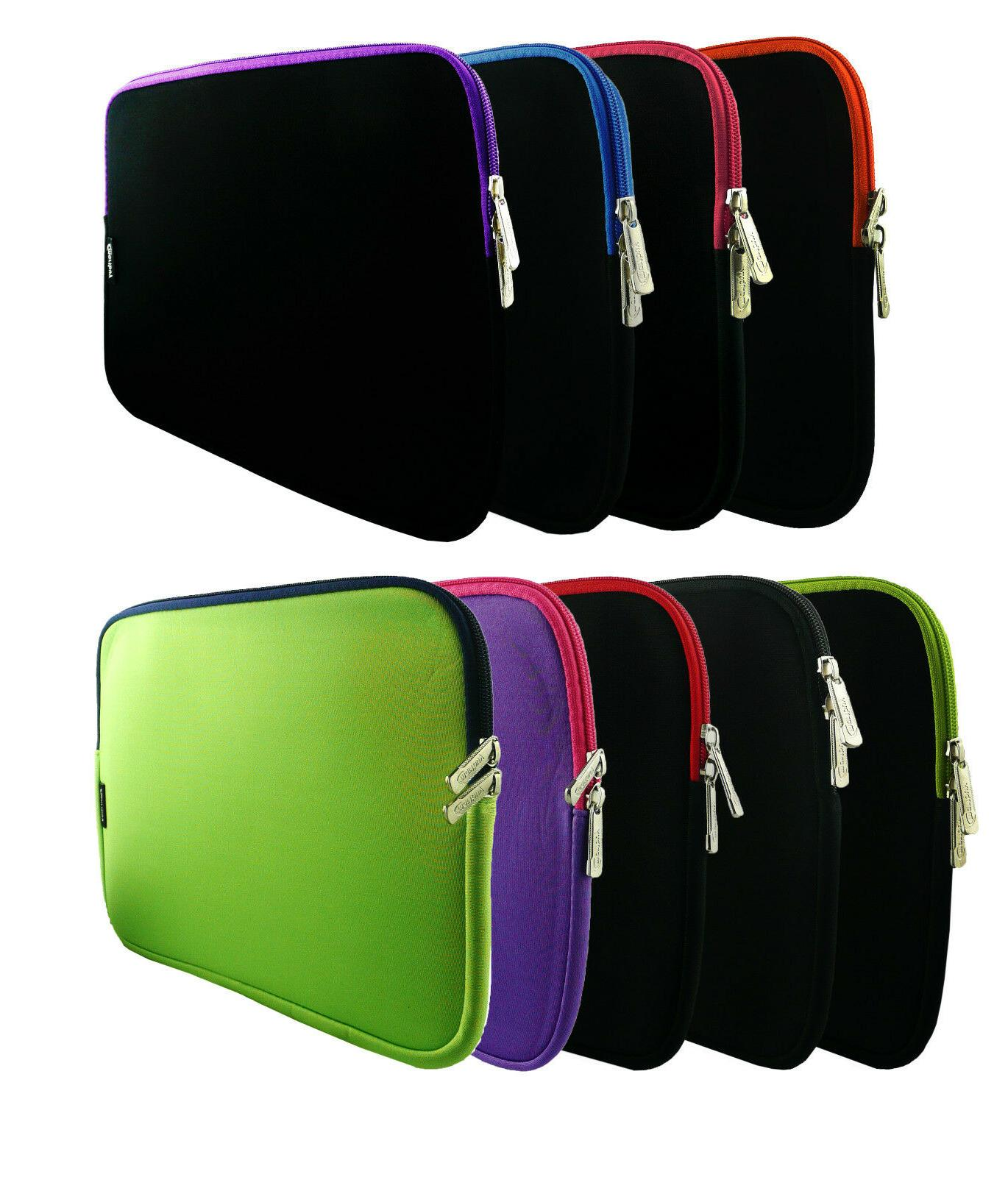 """Neoprene Zip Case Cover Sleeve for Various 9.7"""" to 10.1"""" Inc"""