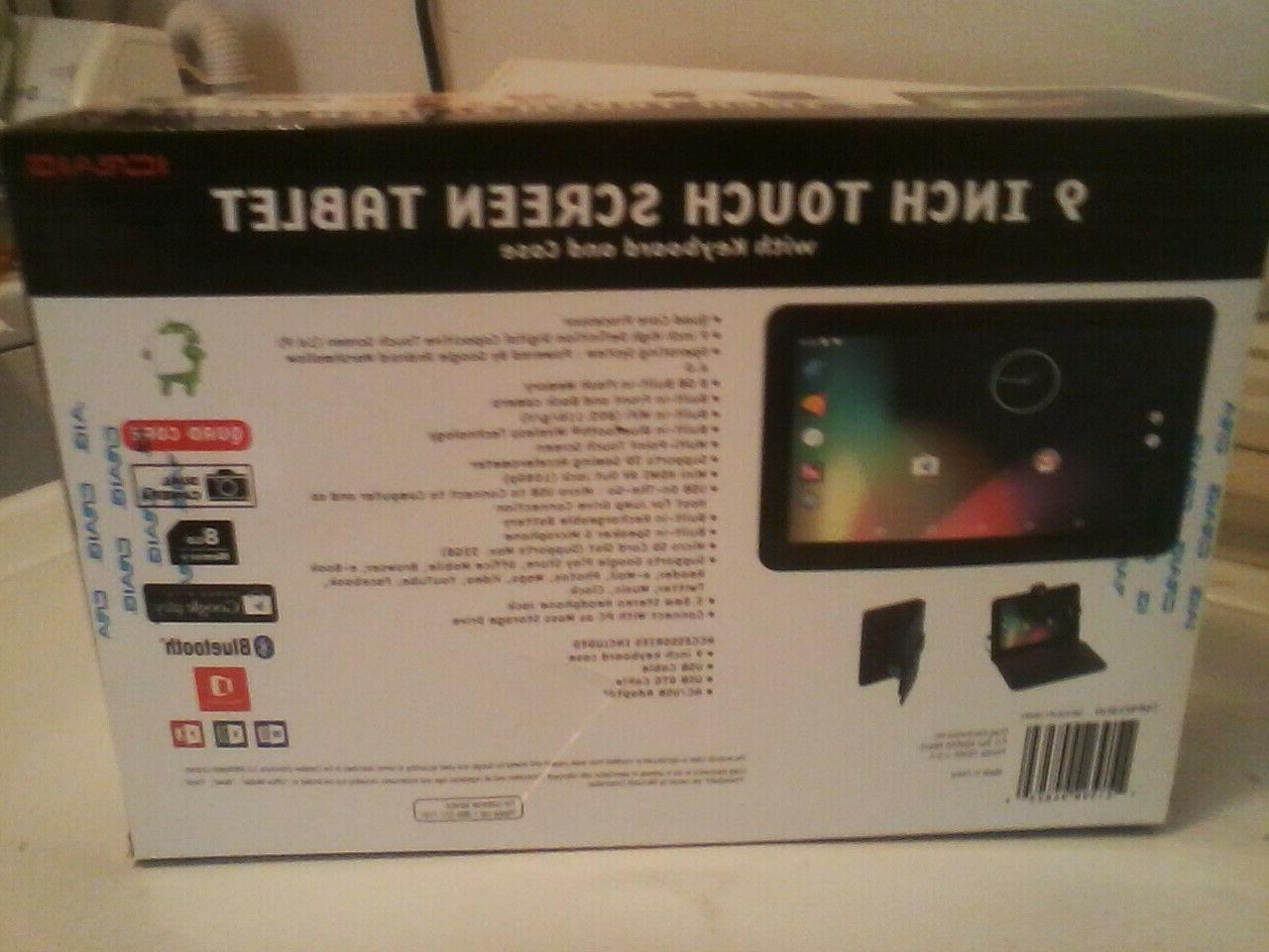 "New CMP823BUN ICraig 9"" Touch Tablet 8GB Memory"