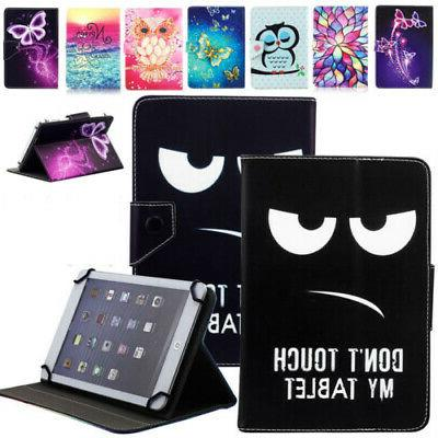 """US For 7"""" 10"""" 10.1""""inch Android Tablet Universal Folio Leath"""
