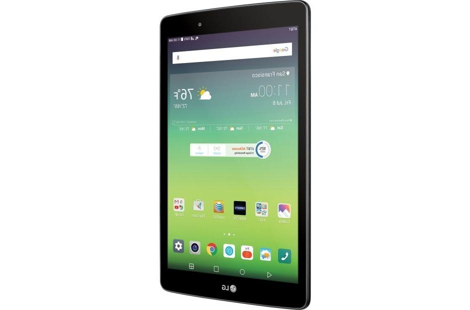 New LG X 8.0 V520 Wi-Fi 4G LTE Cellular Tablet