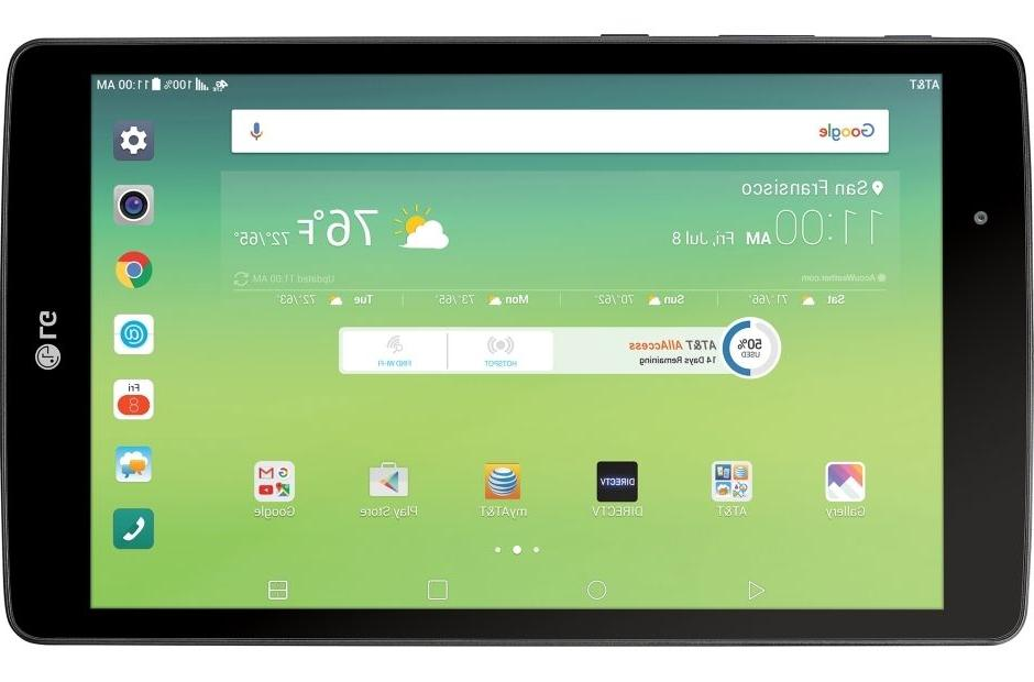New LG X V520 Wi-Fi + 4G LTE Cellular Tablet