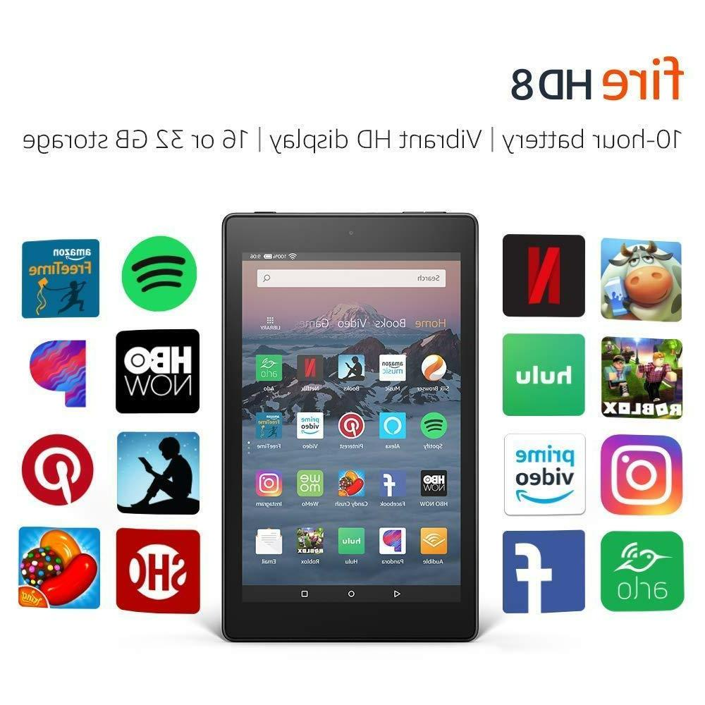 new kindle fire hd 8 tablet 16
