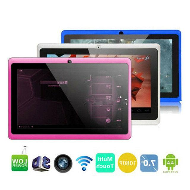 """Nice 7"""" Android Google Tablet PC 4GB HDTouch Screen Camera W"""