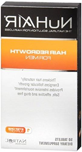 NuHair Hair Regrowth for Men Tablets 50 Tablets