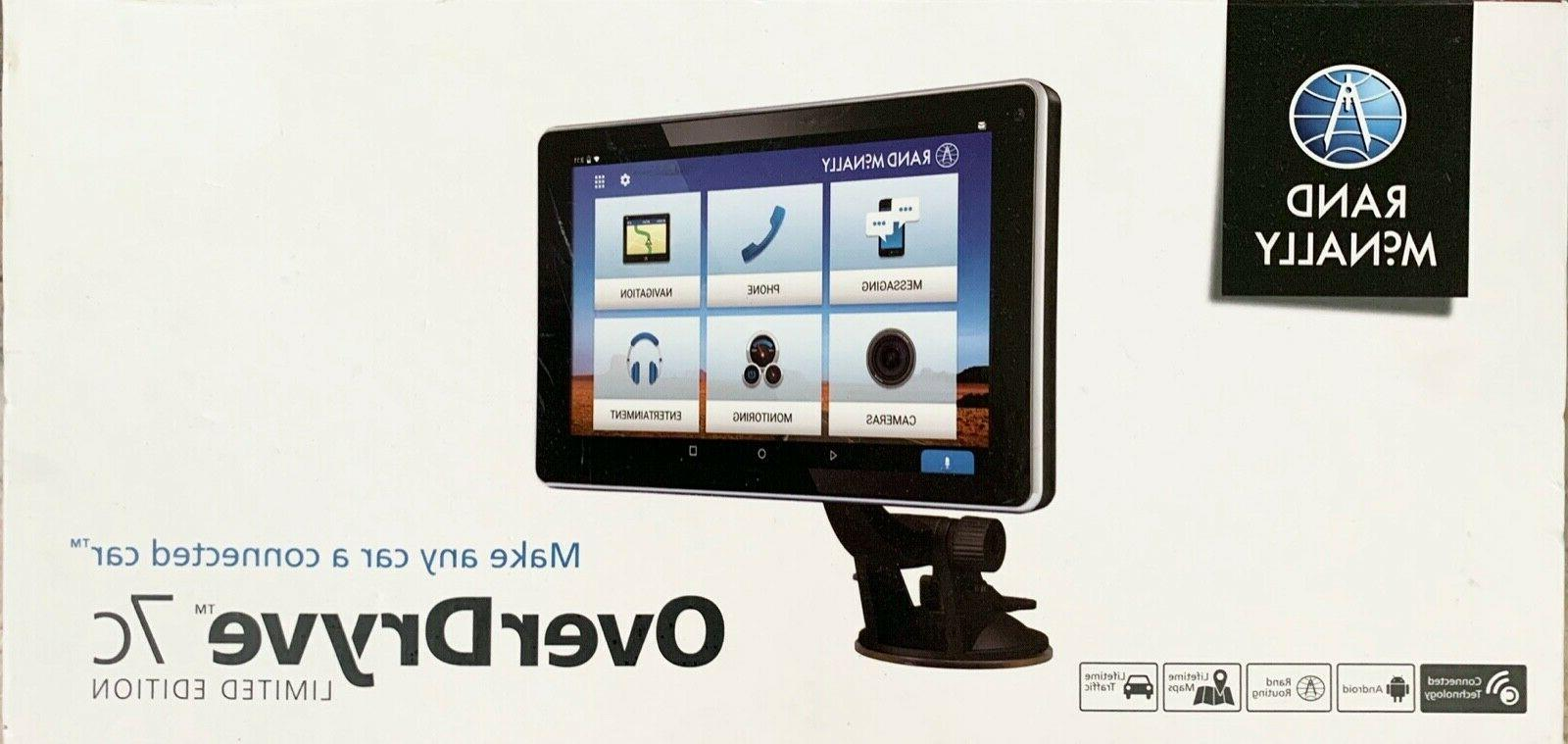 "NEW Rand McNally OverDryve 7c 7"" Tablet/GPS Hybrid"