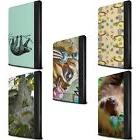 PU Leather Case for Apple iPad Tablet/Wild Animal Sloth/Prot