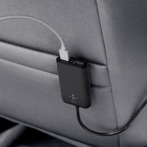 Belkin Rockstar 4 Front and 2 Front Seat Ports with Shared Amp and 1 Amp Port
