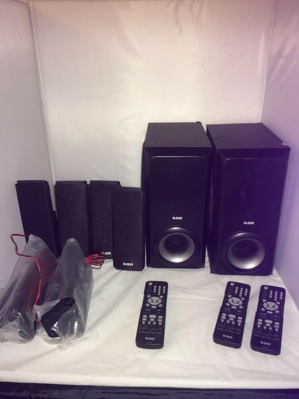 RCA RTD317W parts pieces sold individual used speakers, subw