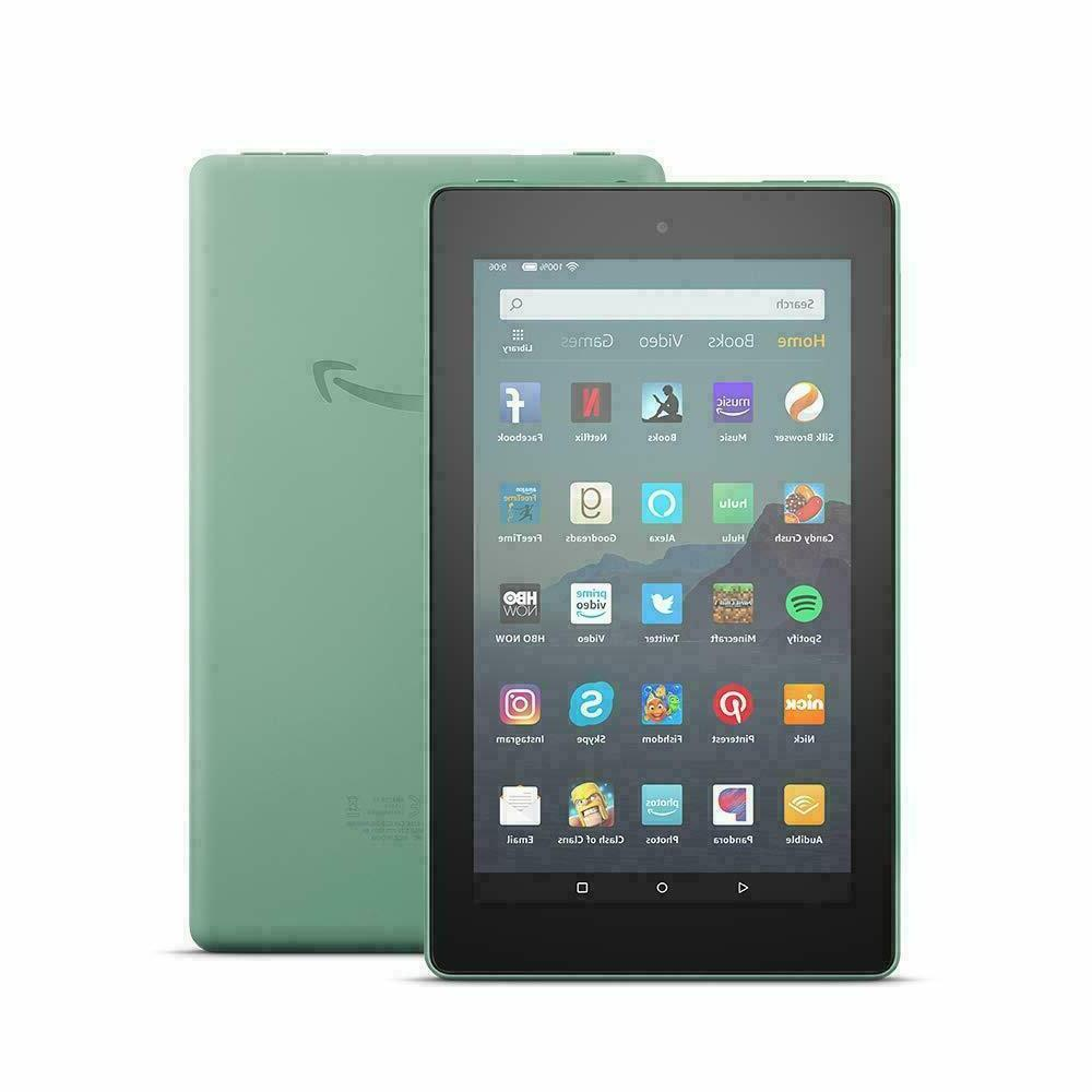 sage green fire 7 tablet with alexa