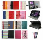 "Stylish Universal Wallet Case Cover with stand fits 7"" - 8"""