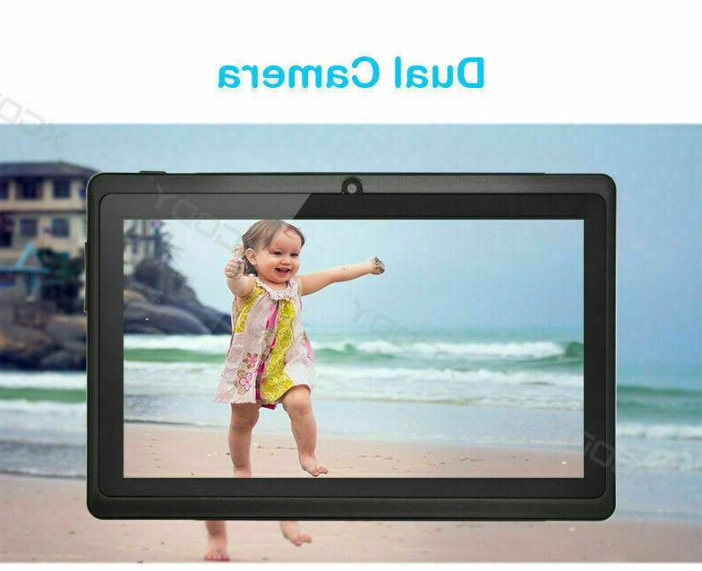 "XGODY 7"" 8.1 16GB Tablet Bundle Case Bluetooth HD"