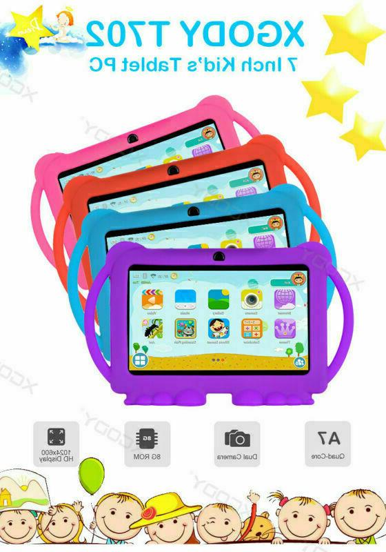 "XGODY 7"" IPS Android 8.1 Tablet Gift Kids"