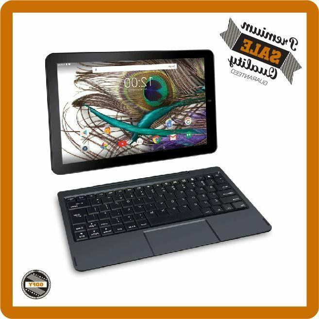 Tablet PC Laptop 2in1 10 inch Android Touchscreen 32GB Quad