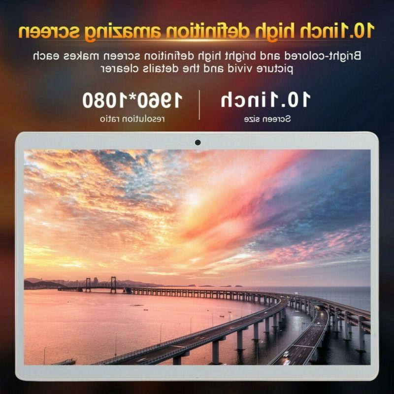 Ten Core HD Tablet PC GPS Android 8.0