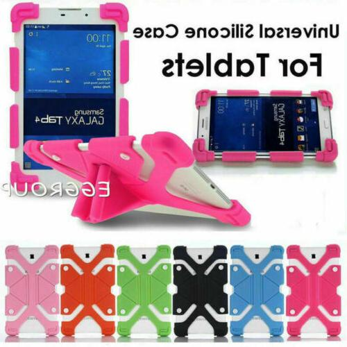 """Universal 7"""" 8"""" 10"""" 10.1"""" Tablets Shockproof Silicone Handle"""