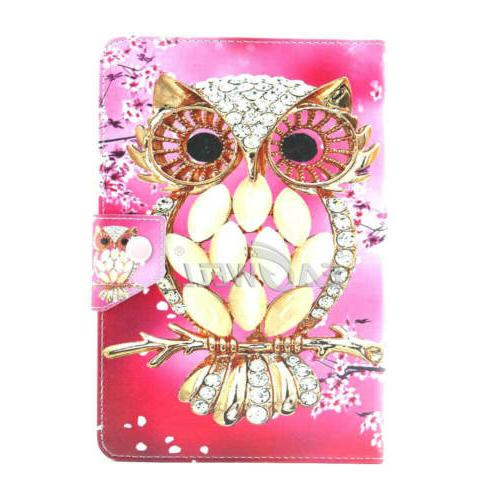 """US For 7"""" 10.1"""" Tablets Universal PU Leather Printing Cover"""