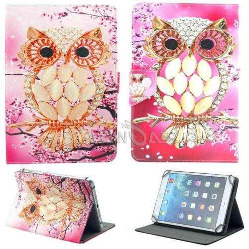 "US For 7.0 7"" 10.1"" inch Tablets Universal PU Leather Case o"
