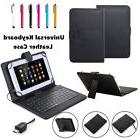 """US For 9.7"""" 10"""" 10.1"""" inch Android Tablets Micro USB Leather"""