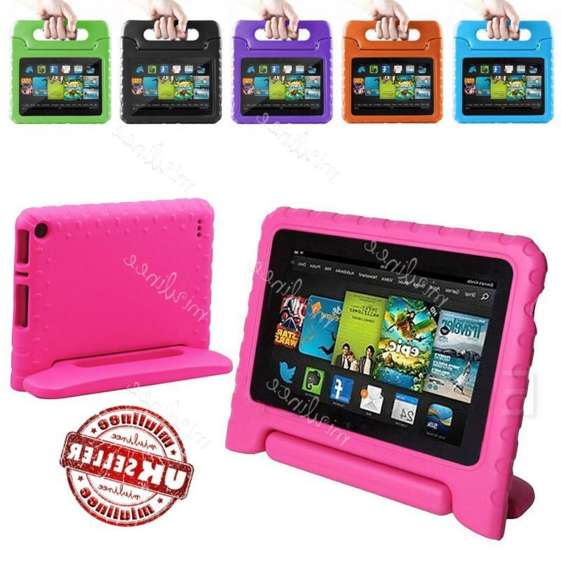 US Kids Shockproof Stand Case For Amazon Kindle Fire 7 5th G
