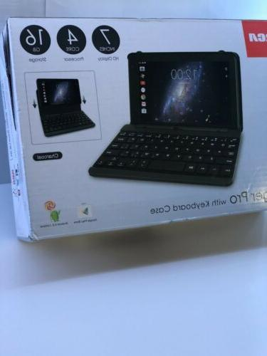 voyager pro 7 16gb tablet and keyboard