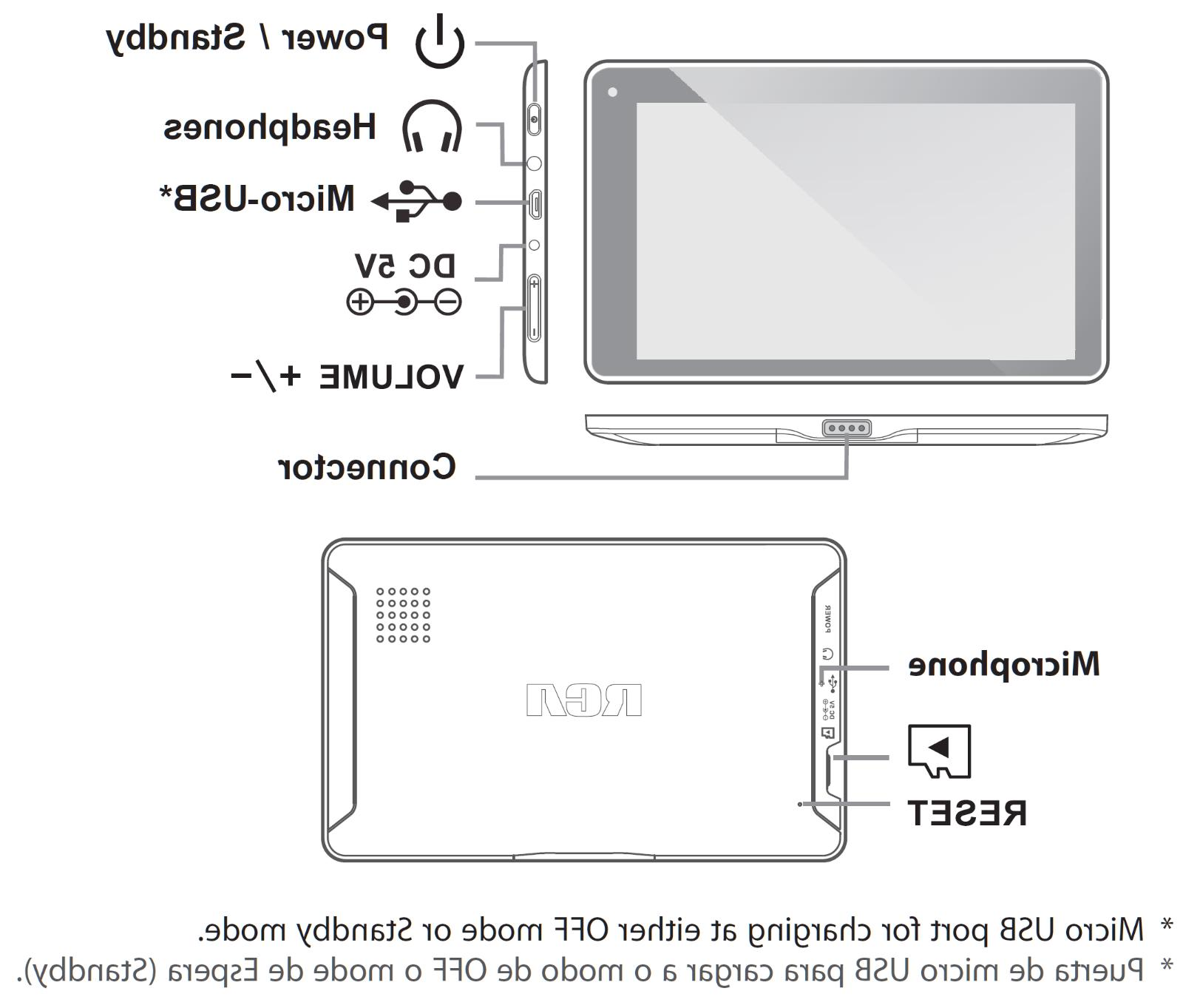 RCA Pro+ Storage 2-In-1 Touch Android