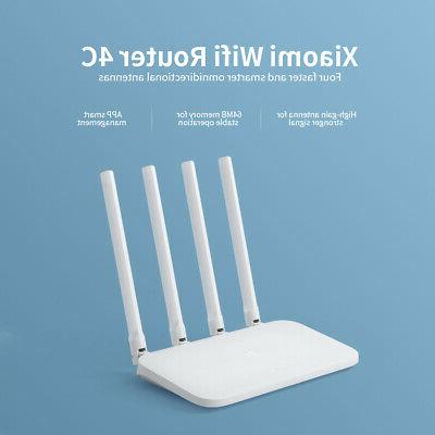 Xiaomi WiFi Router Smart Control With 4 High-Gain Antennas F